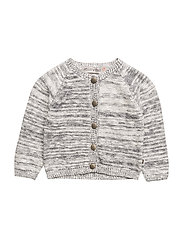 Pearl 01 - Knit cardigan - India ink