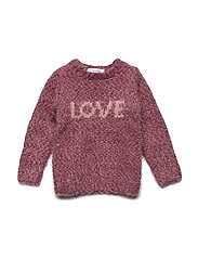 Blouse knit - MAROON