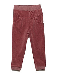 Pants velour - MAROON