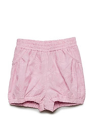 Shorts w. embroidery - MAUVE MIST