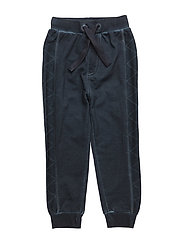 52 - Sweat Pants w.stitch - DARK NAVY
