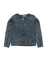 41 -Jacket knit denim - SKIPPER BLUE DENIM