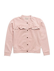 Jacket knit denim - ROSE CLOUD