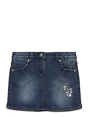Denim skirt - INDIGO BLUE