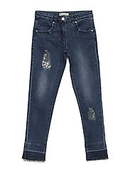 Denim pant - INDIGO BLUE