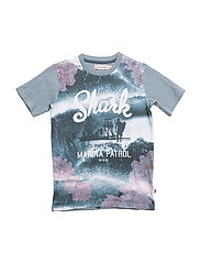 T-shirt SS w. photo - BLUE MIRAGE