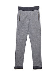 Sweat pants w. zip - BLUE NIGHTS