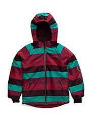 14 -Snow jacket AO-printe - GRAPE WINE