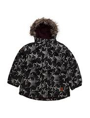 21 -Snow jacket -AOP - GRAPE WINE