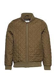 Quilt jacket - Boys - BURNT OLIVE