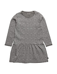 03 - Dress LS - GREY MELANGE