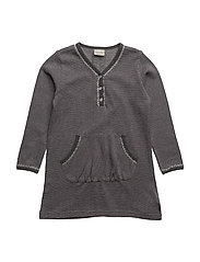 04 - Dress LS sweat - WARM GREYMELANGE