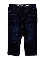 Jeans boy - Regular engineer - DARK BLUE DENIM