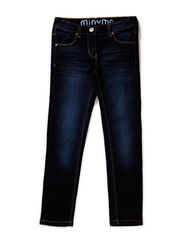 Jeans girl - Tight fit - DARK BLUE DENIM