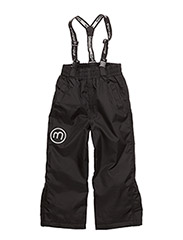 Basic 55 -Snowpant -solid - BLACK