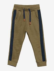 Sweat Pants - BURNT OLIVE