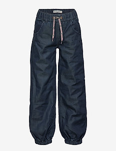 Baggy pant -GIRL - bukser - dark blue
