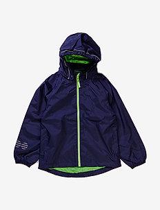 Raincoat, breathable - jackets - dark navy