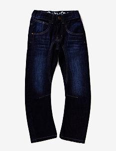Jeans boy - Engineer fit - DARK BLUE DENIM