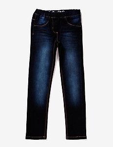 Jeans girl - Slim fit - jeans - dark blue denim