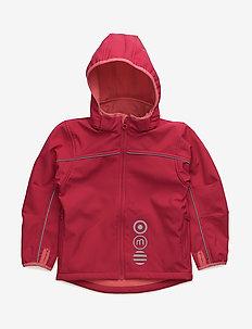 Basic 45 -Softshell jakke - ROSE RED