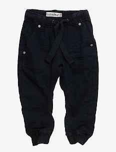 Basic 87-Pants twill tiny-loos - DARK NAVY