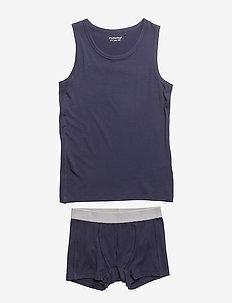 Underwear set - Bamboo - DARK NAVY