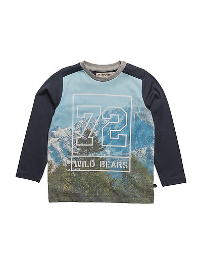 02 -T-Shirt LS Photoprint - BLUE NIGHTS