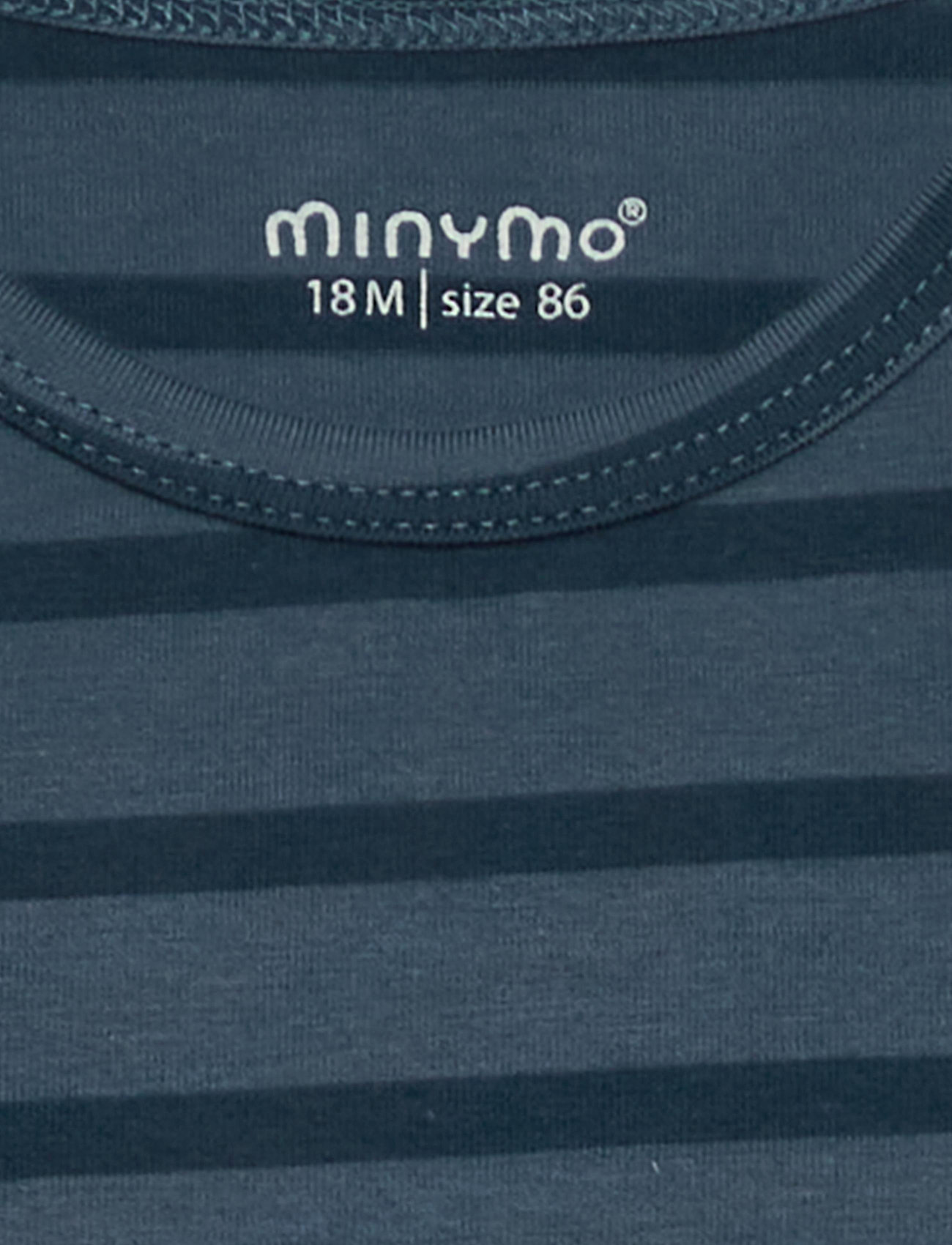 Minymo - Basic 32 -T-shirt SS (2-pack) - t-krekli ar īsām piedurknēm - new navy - 0