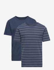 Basic 32 -T-shirt SS (2-pack) - NEW NAVY