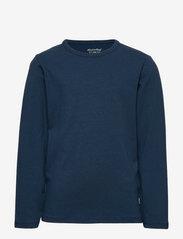Minymo - Basic 34 -T-shirt LS (2-pack) - dlugi-rekaw - new navy - 2