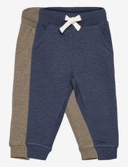 Basic 36 -Sweat pant (2-pack) - ENSIGN BLUE