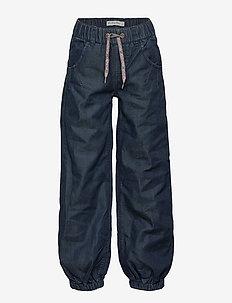 Baggy pant -GIRL - trousers - dark blue