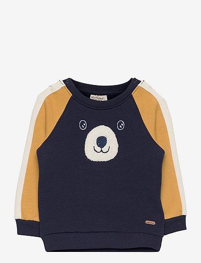 Sweatshirt LS - sweatshirts - dark navy