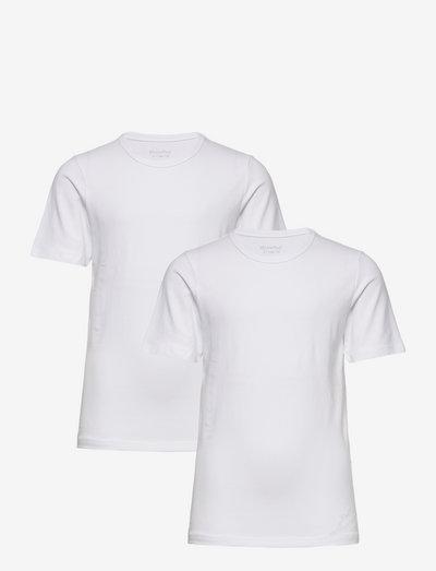 Basic 32 -T-shirt SS (2-pack) - short-sleeved - brilliant white