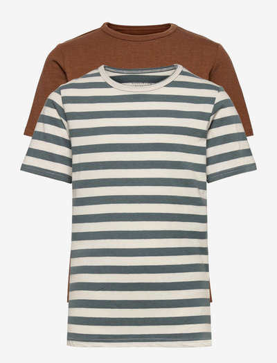 Basic 32 -T-shirt SS (2-pack) - short-sleeved - toffee