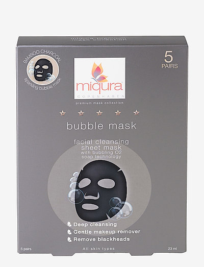 Bubble Mask (5 pair) box - CLEAR