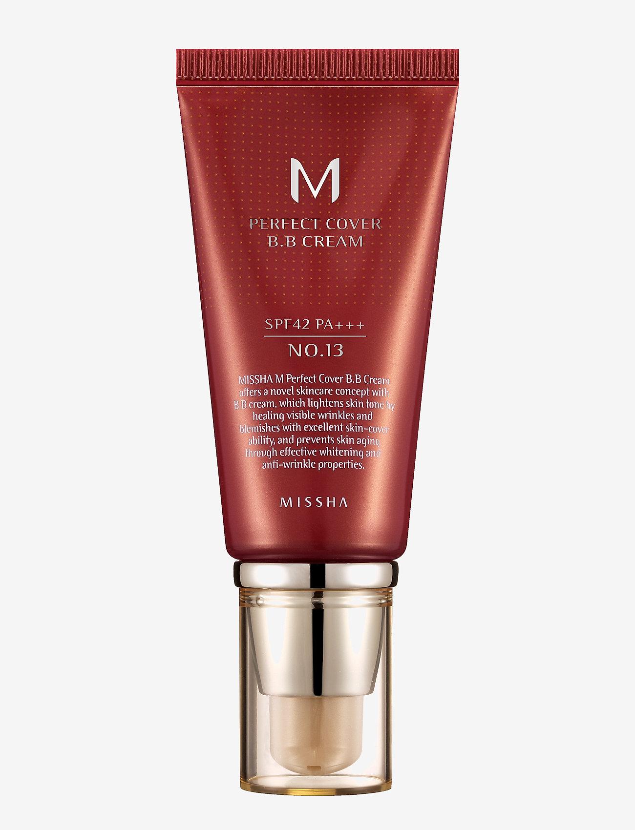 Missha - MISSHA M Perfect Cover BB Cream SPF42/PA+++ (No.13) - bb & cc creme - no.13/bright beige - 0