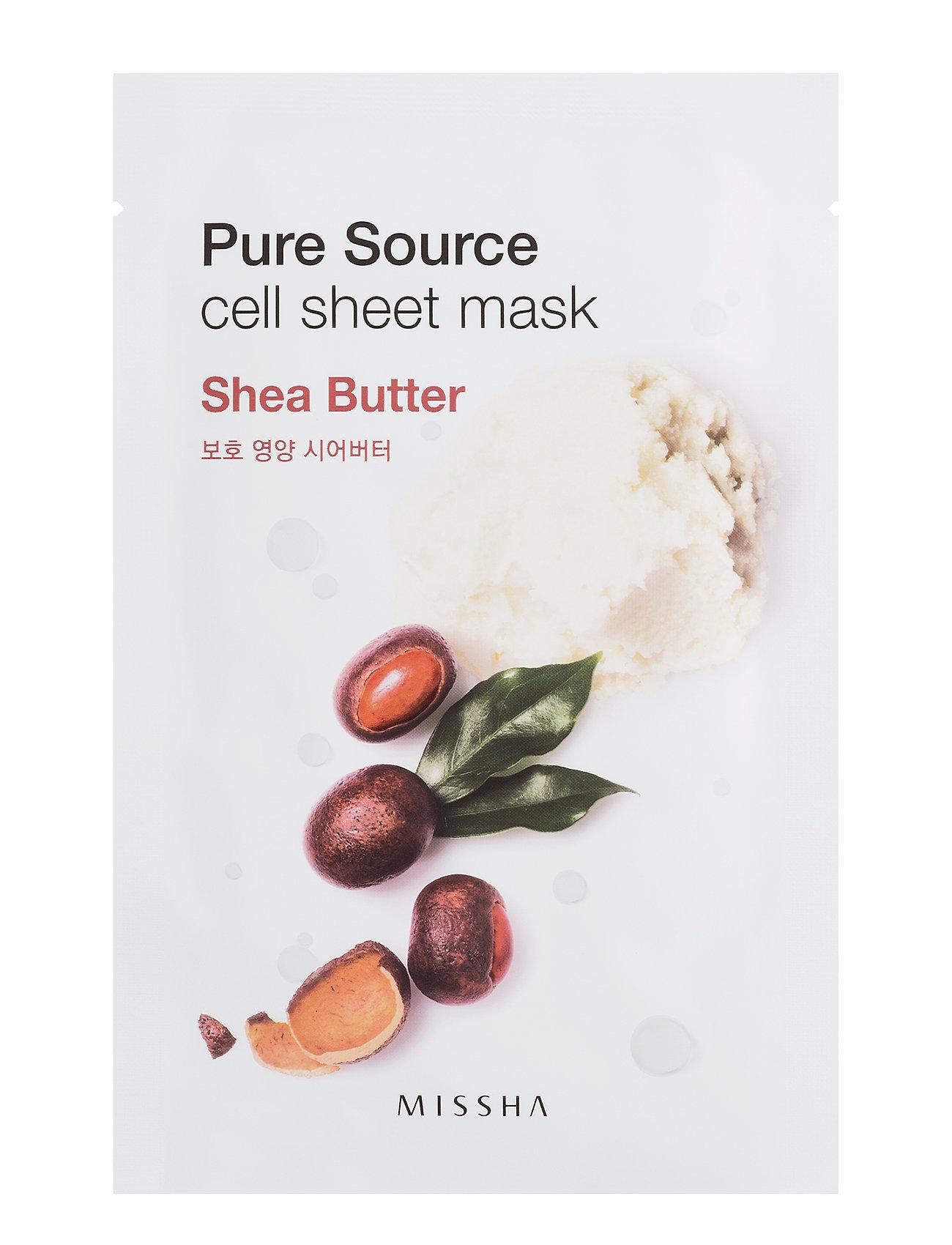 Missha Pure Source Cell Sheet Mask (Shea Butter) - Missha