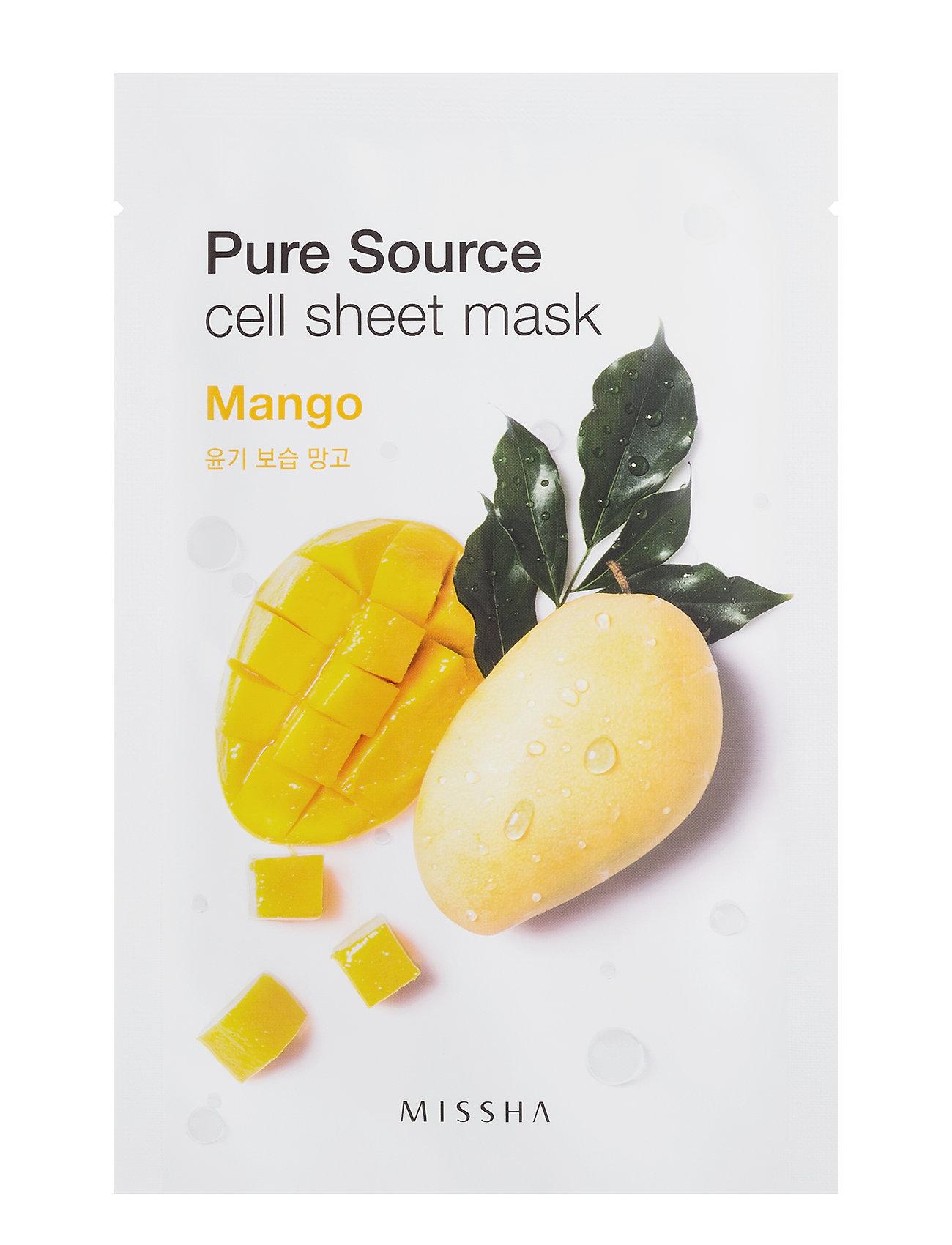 Missha Pure Source Cell Sheet Mask (Mango) - Missha