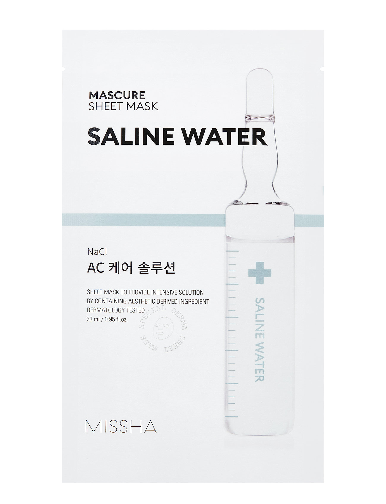 Image of Missha Mascure Ac Care Solution Sheet Mask Beauty WOMEN Skin Care Face Sheet Mask Nude Missha (3287514763)