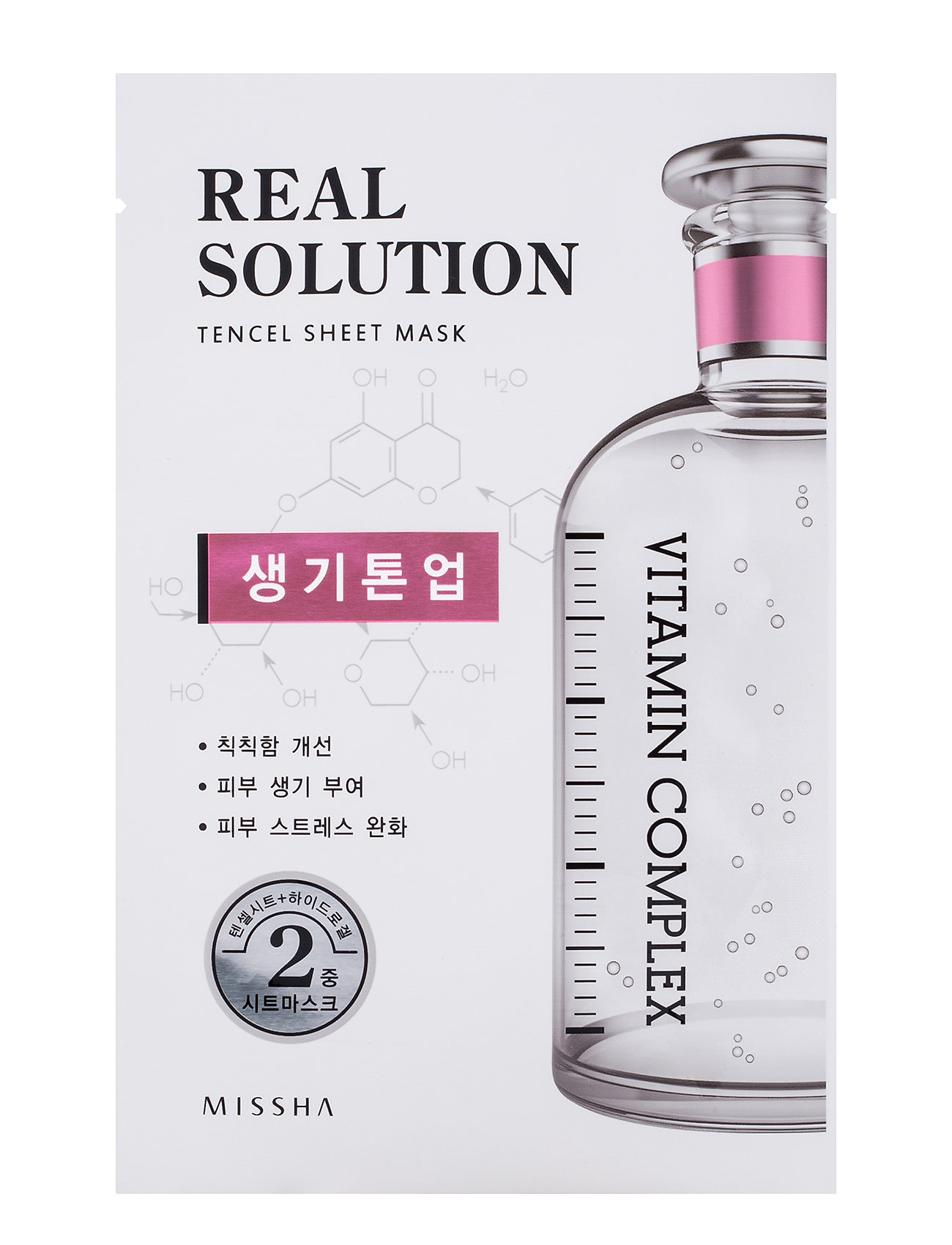 Missha Missha Real Solution Tencel Sheet Mask (Vitalizing) - CLEAR