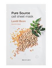 Missha Pure Source Cell Sheet Mask (Lentils)