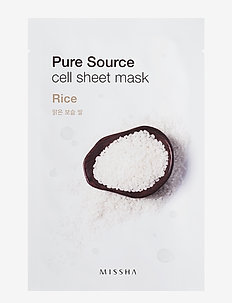 Missha Pure Source Cell Sheet Mask (Rice) - CLEAR