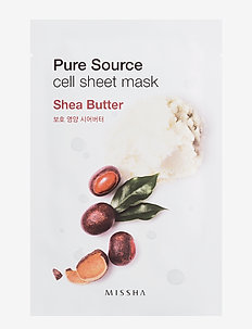Missha Pure Source Cell Sheet Mask (Shea Butter) - CLEAR