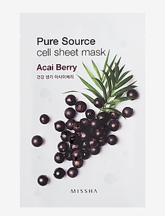 Missha Pure Source Cell Sheet Mask (Acai Berry) - CLEAR