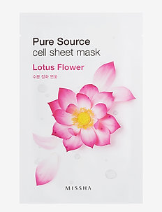 Missha Pure Source Cell Sheet Mask (Lotus) - CLEAR