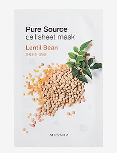 Missha Pure Source Cell Sheet Mask (Lentils) - CLEAR
