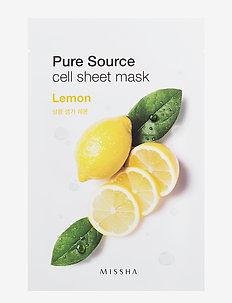 Missha Pure Source Cell Sheet Mask (Lemon) - CLEAR