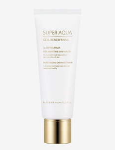 Missha Super Aqua Cell Renew Snail Sleeping Mask - nattkrem - clear